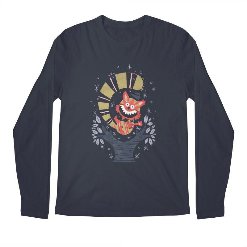 Cheshire Cat - Alice in Wonderland Men's Longsleeve T-Shirt by WanderingBert Shirts and stuff