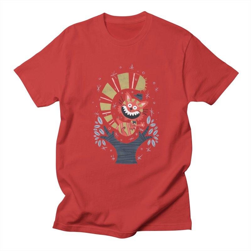 Cheshire Cat - Alice in Wonderland Men's T-shirt by WanderingBert Shirts and stuff