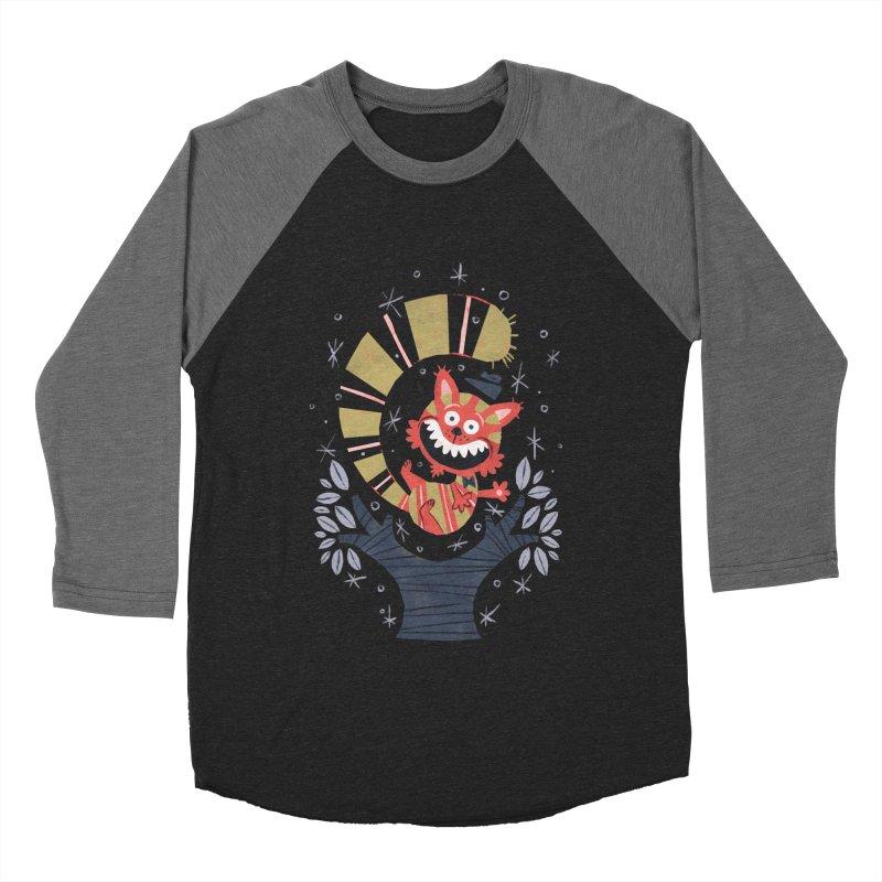 Cheshire Cat - Alice in Wonderland Women's Baseball Triblend T-Shirt by WanderingBert Shirts and stuff