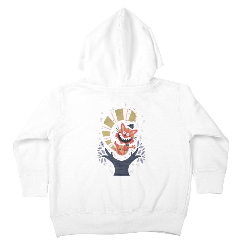 Cheshire Cat - Alice in Wonderland Kids Toddler Zip-Up Hoody by WanderingBert Shirts and stuff