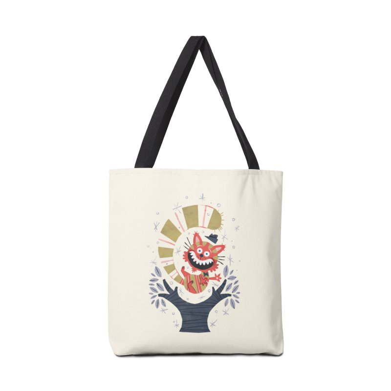 Cheshire Cat - Alice in Wonderland Accessories Bag by WanderingBert Shirts and stuff