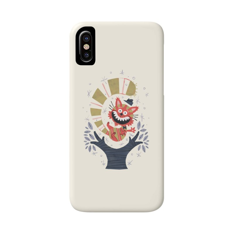 Cheshire Cat - Alice in Wonderland Accessories Phone Case by WanderingBert Shirts and stuff