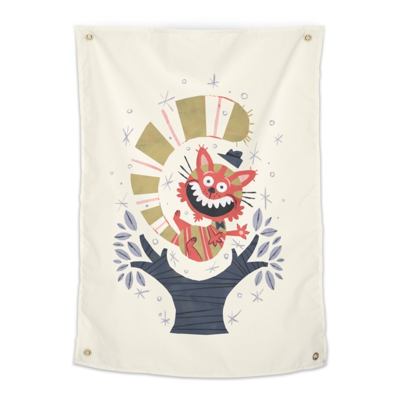 Cheshire Cat - Alice in Wonderland Home Tapestry by WanderingBert Shirts and stuff