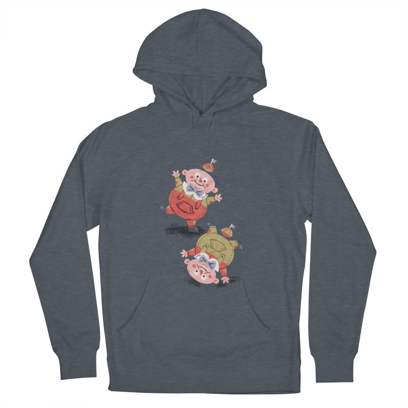 Tweedledum & Tweedledee - Alice in Wonderland Women's Pullover Hoody by WanderingBert Shirts and stuff