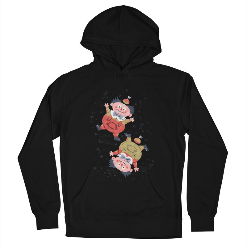 Tweedledum & Tweedledee - Alice in Wonderland Men's Pullover Hoody by WanderingBert Shirts and stuff