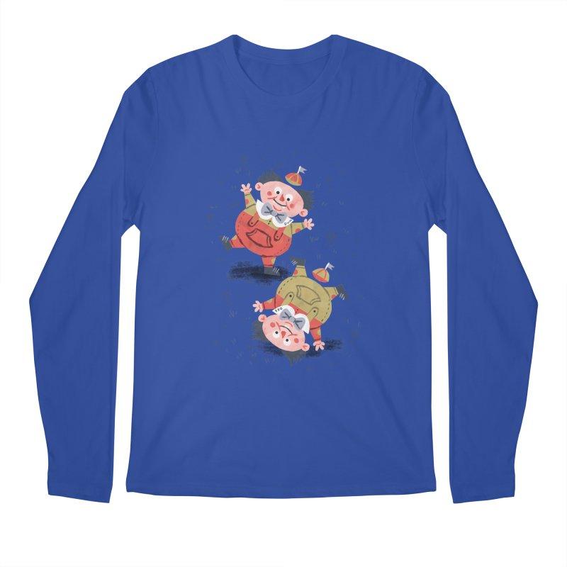 Tweedledum & Tweedledee - Alice in Wonderland Men's Longsleeve T-Shirt by WanderingBert Shirts and stuff