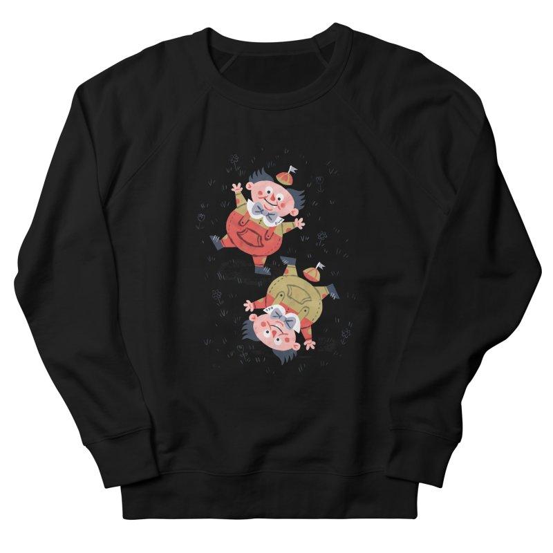 Tweedledum & Tweedledee - Alice in Wonderland Women's Sweatshirt by WanderingBert Shirts and stuff