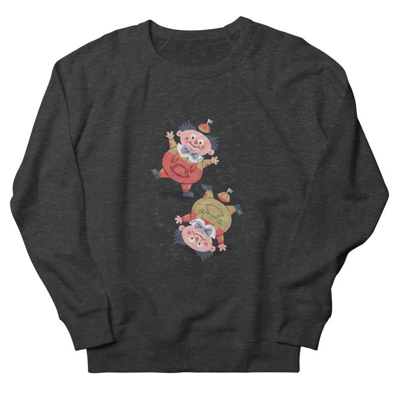Tweedledum & Tweedledee - Alice in Wonderland Men's Sweatshirt by WanderingBert Shirts and stuff