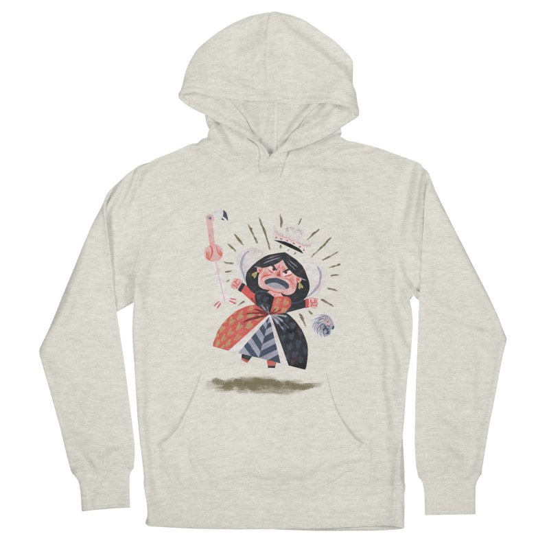 Queen of Hearts - Alice in Wonderland Women's Pullover Hoody by WanderingBert Shirts and stuff