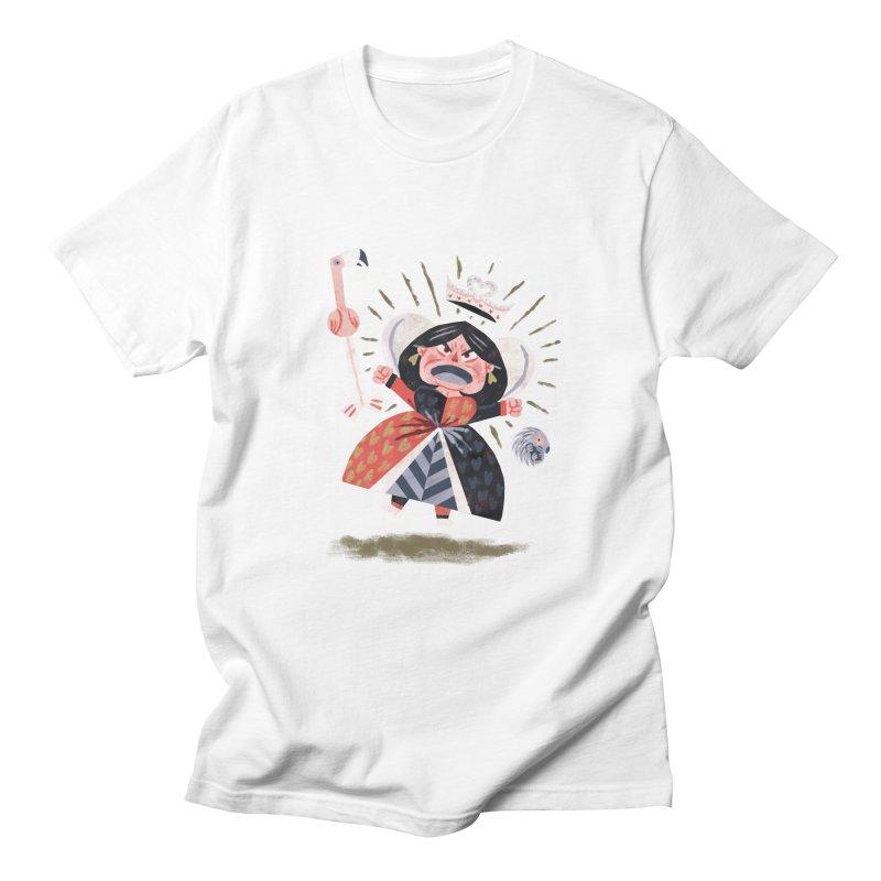 Queen of Hearts - Alice in Wonderland Women's Unisex T-Shirt by WanderingBert Shirts and stuff