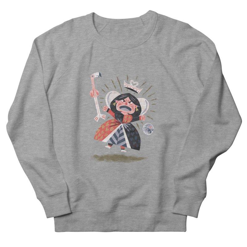Queen of Hearts - Alice in Wonderland Men's Sweatshirt by WanderingBert Shirts and stuff
