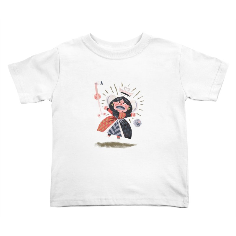 Queen of Hearts - Alice in Wonderland   by WanderingBert Shirts and stuff