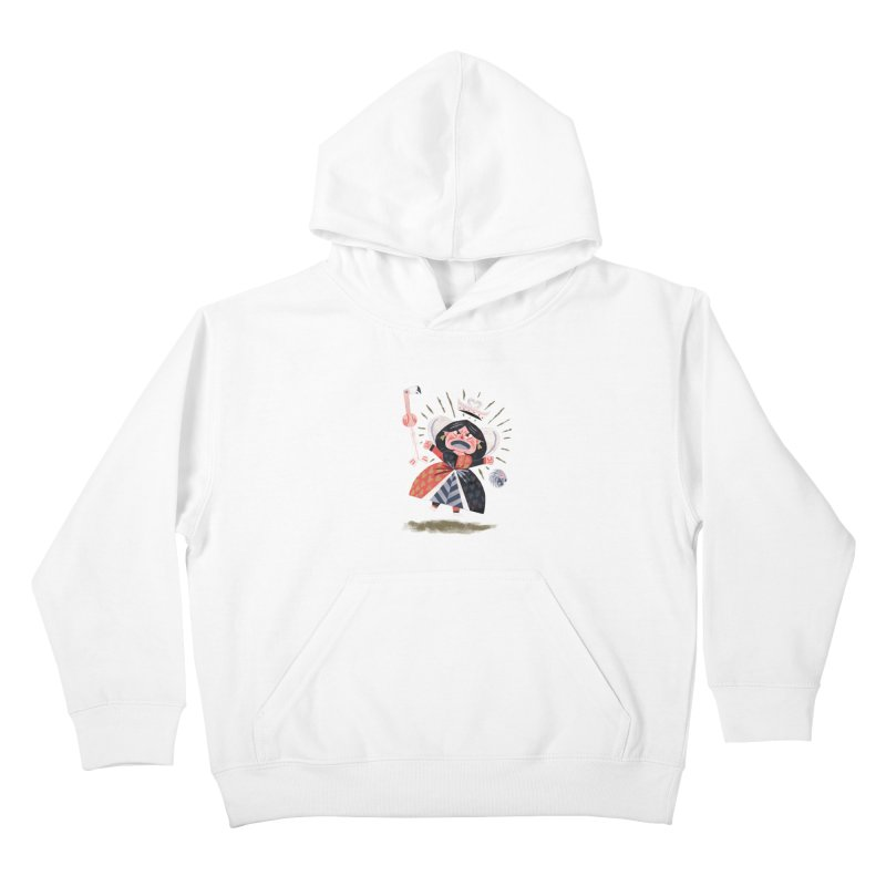 Queen of Hearts - Alice in Wonderland Kids Pullover Hoody by WanderingBert Shirts and stuff