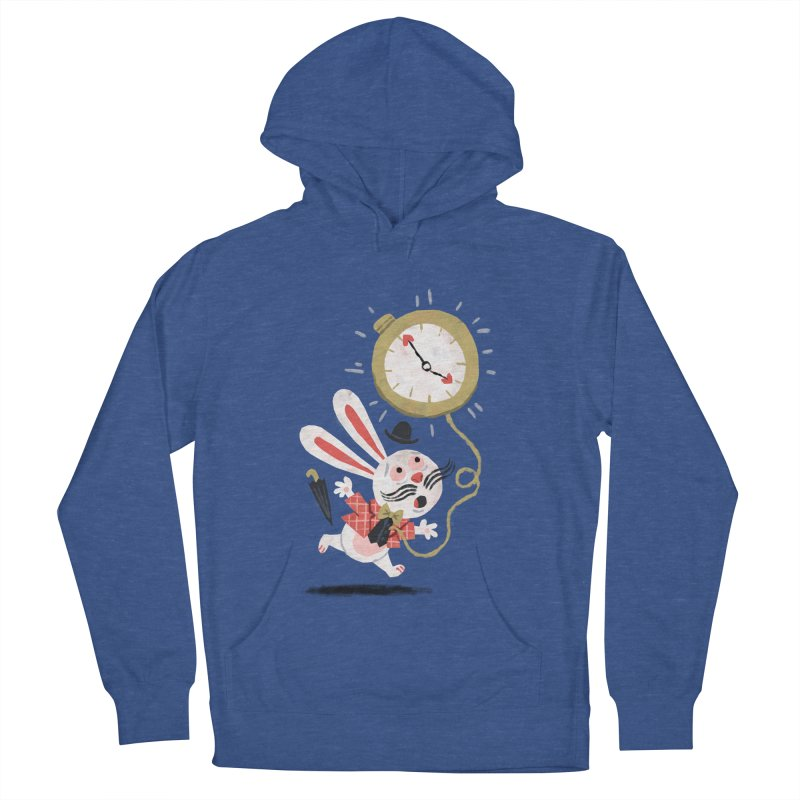 White Rabbit - Alice in Wonderland Women's Pullover Hoody by WanderingBert Shirts and stuff