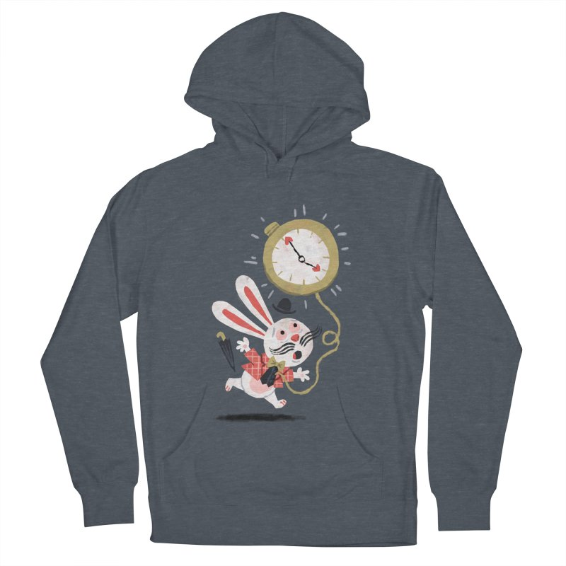 White Rabbit - Alice in Wonderland Men's Pullover Hoody by WanderingBert Shirts and stuff