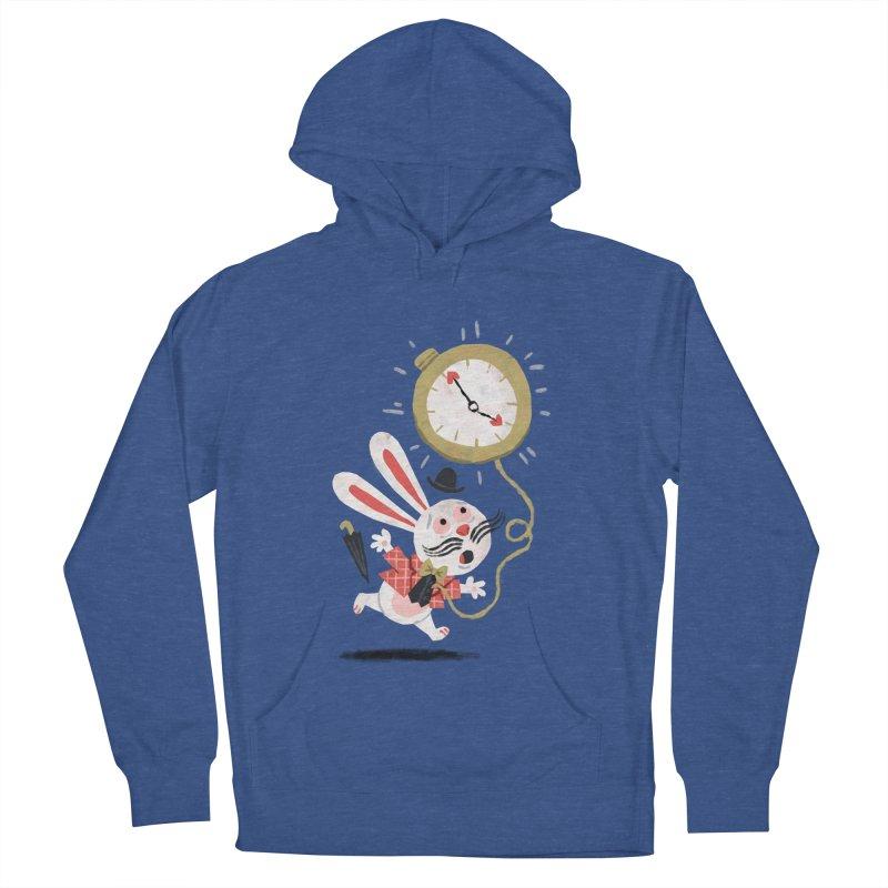 White Rabbit - Alice in Wonderland Men's Pullover Hoody by WanderingBert Shirts and stuff