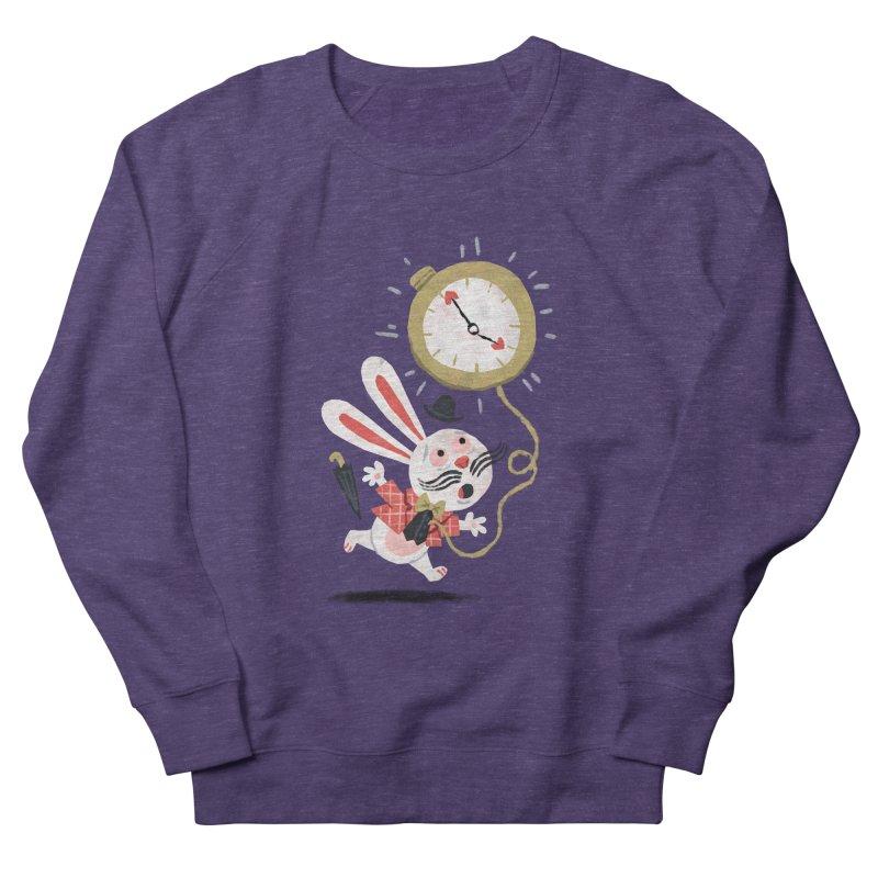 White Rabbit - Alice in Wonderland Men's Sweatshirt by WanderingBert Shirts and stuff