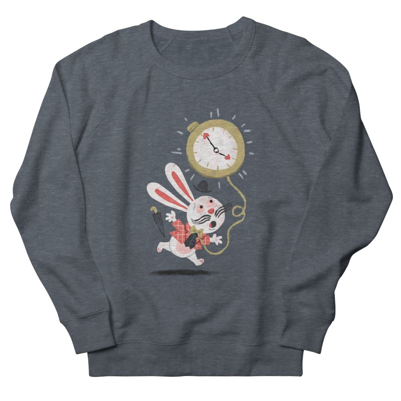 White Rabbit - Alice in Wonderland Men's Sweatshirt by WanderingBert Shirts and stuff