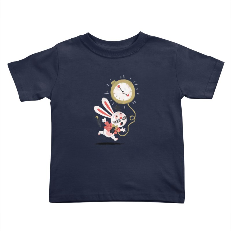 White Rabbit - Alice in Wonderland Kids Toddler T-Shirt by WanderingBert Shirts and stuff