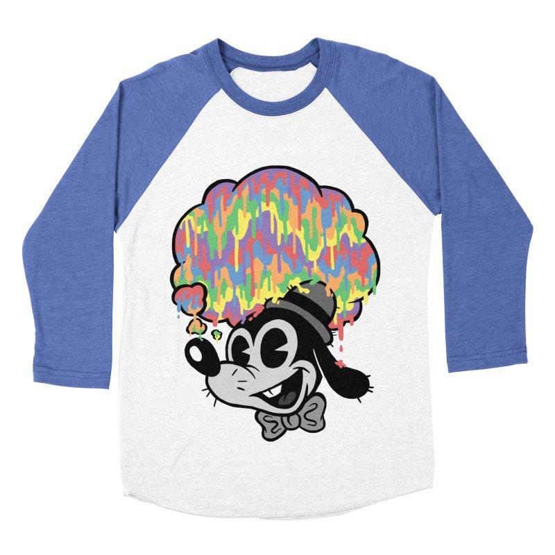 Technicolor Thinking Women's Baseball Triblend T-Shirt by WanderingBert Shirts and stuff