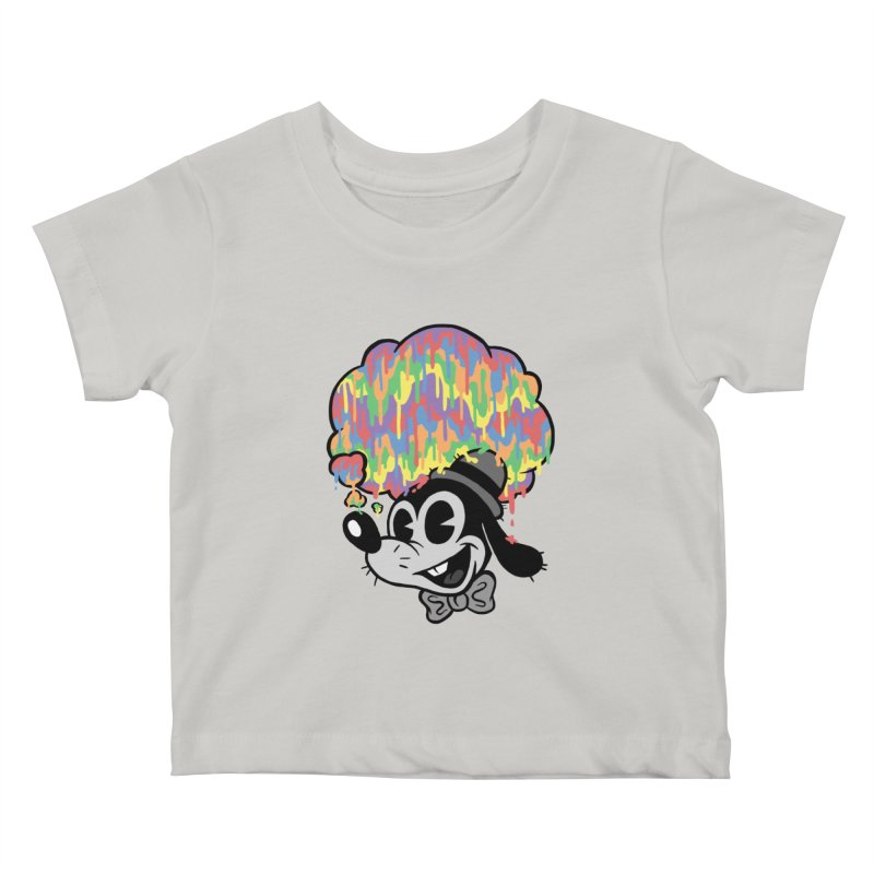 Technicolor Thinking Kids Baby T-Shirt by WanderingBert Shirts and stuff