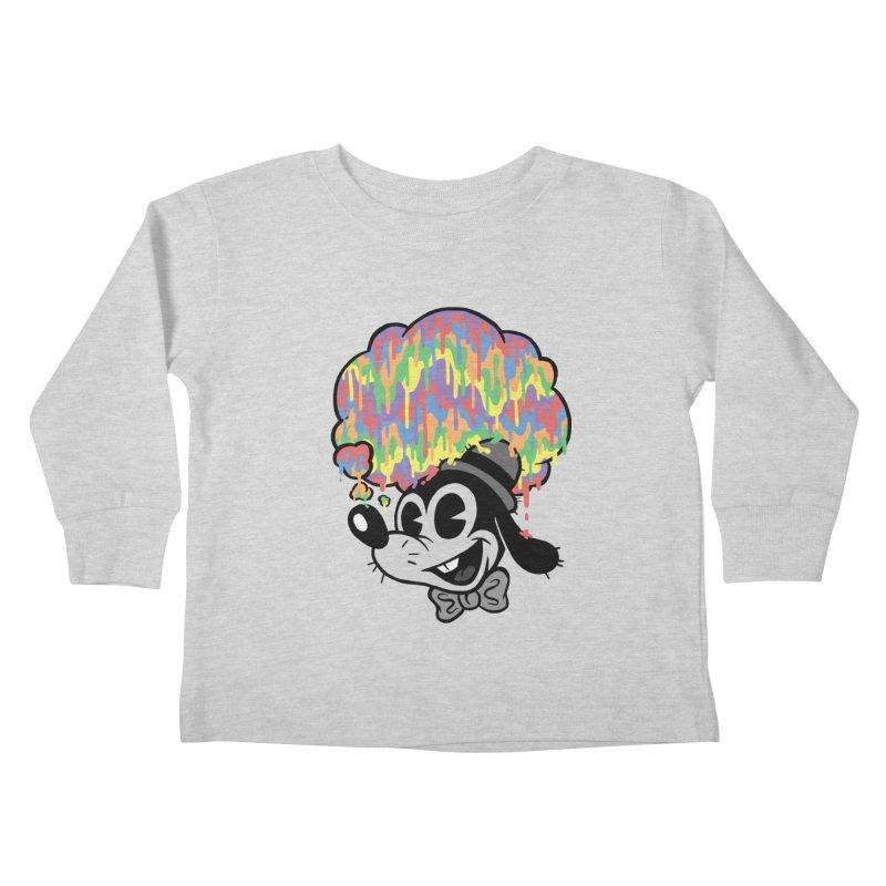 Technicolor Thinking Kids Toddler Longsleeve T-Shirt by WanderingBert Shirts and stuff