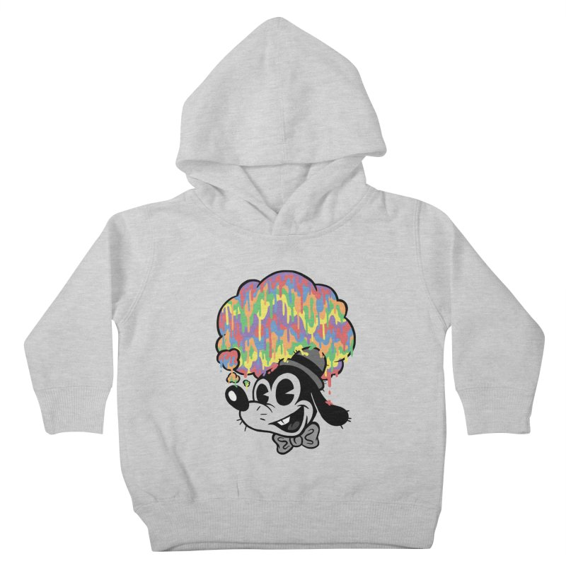 Technicolor Thinking Kids Toddler Pullover Hoody by WanderingBert Shirts and stuff