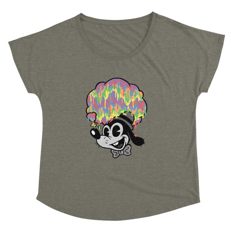 Technicolor Thinking Women's Dolman by WanderingBert Shirts and stuff