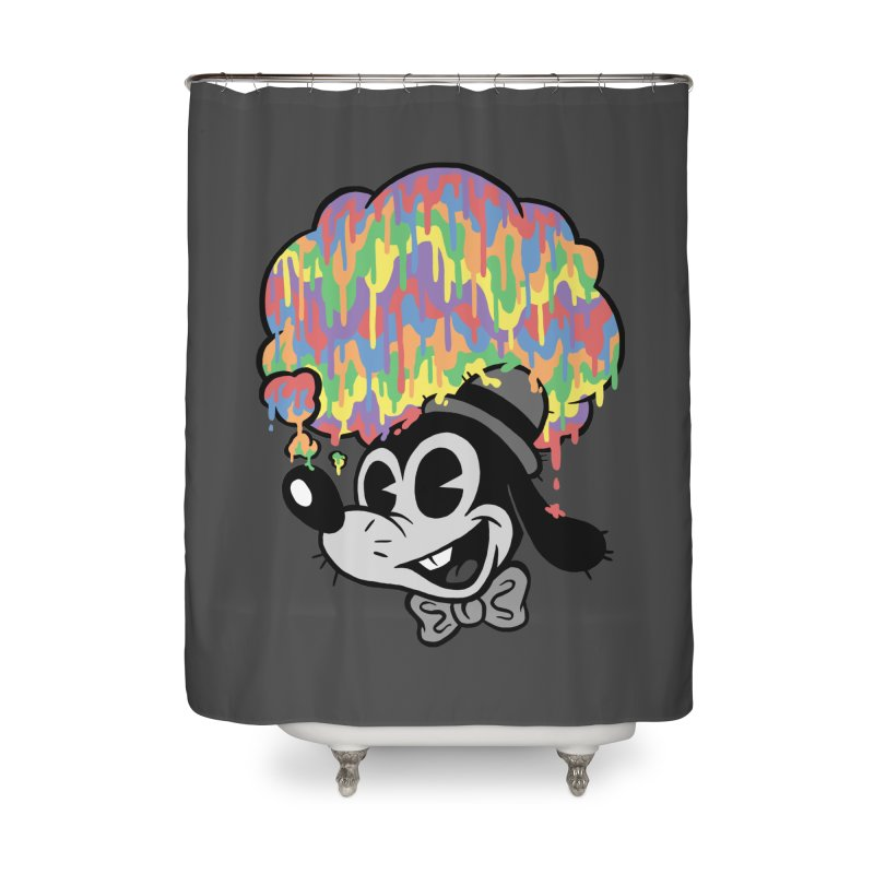 Technicolor Thinking Home Shower Curtain by WanderingBert Shirts and stuff