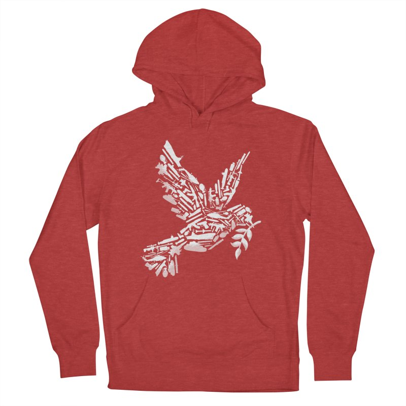 Peace? Women's Pullover Hoody by WanderingBert Shirts and stuff
