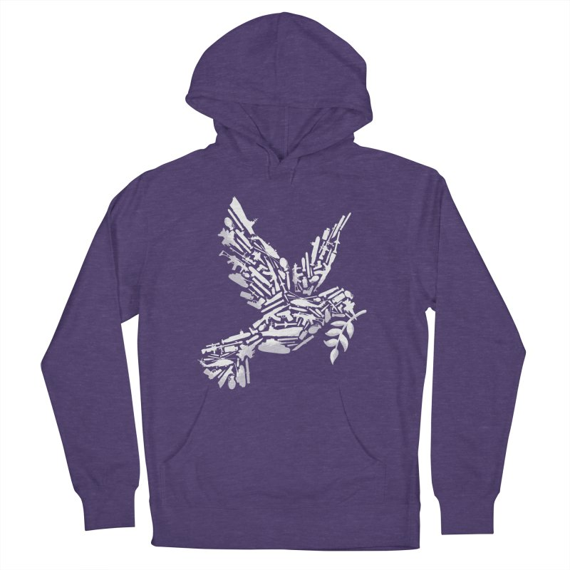 Peace? Men's Pullover Hoody by WanderingBert Shirts and stuff