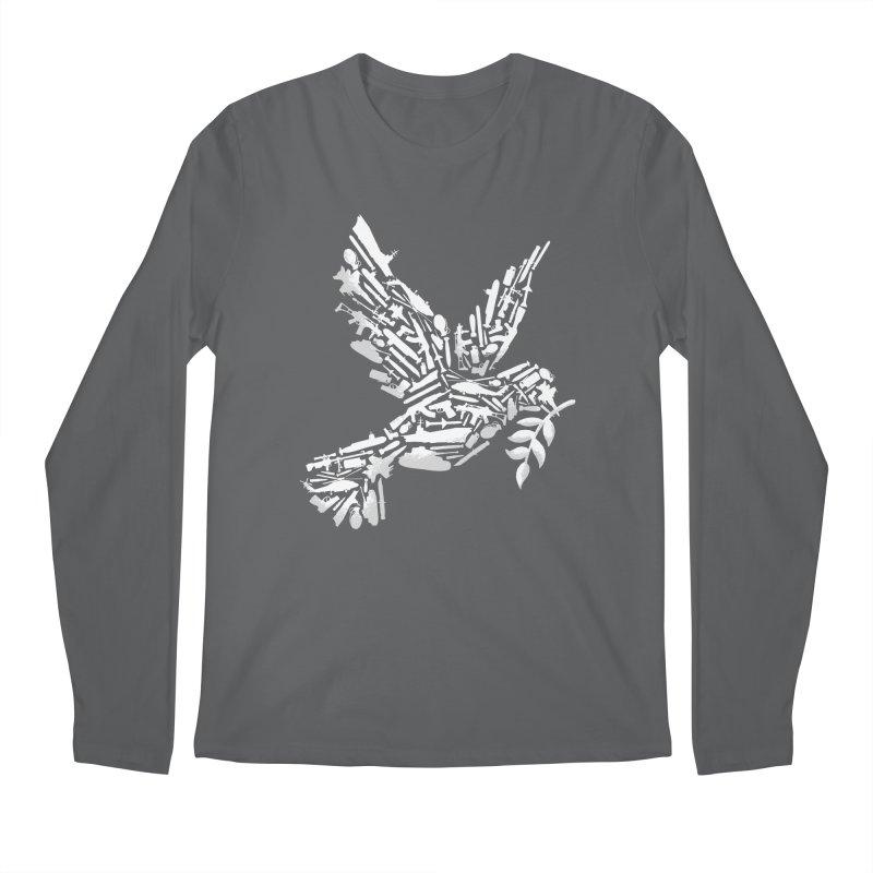Peace? Men's Longsleeve T-Shirt by WanderingBert Shirts and stuff