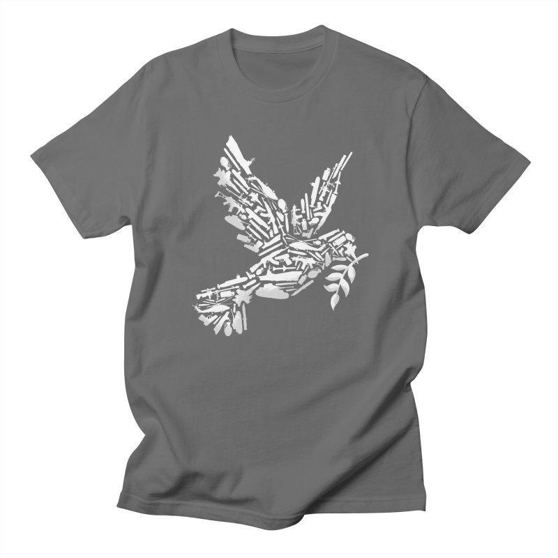 Peace? Men's T-Shirt by WanderingBert Shirts and stuff