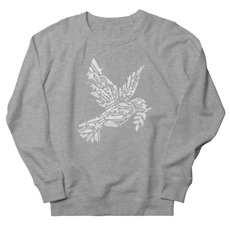Peace? Men's Sweatshirt by WanderingBert Shirts and stuff