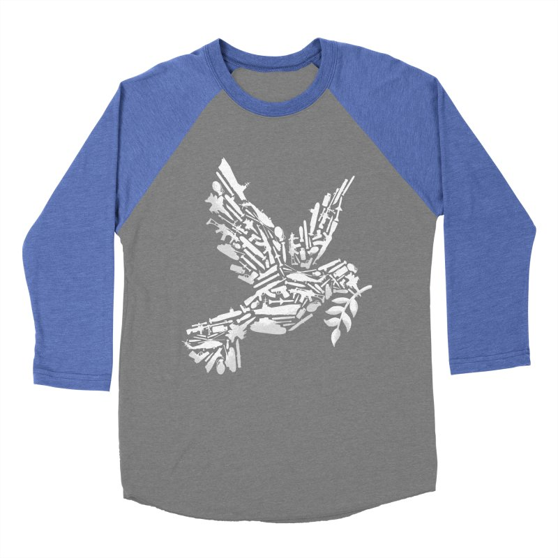 Peace? Men's Baseball Triblend T-Shirt by WanderingBert Shirts and stuff