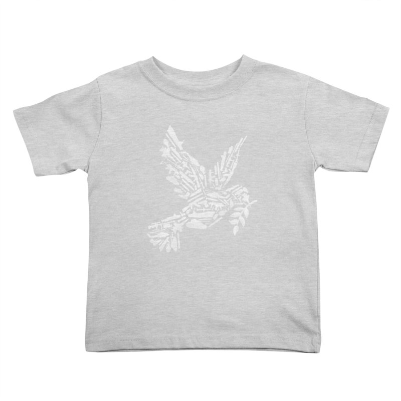 Peace? Kids Toddler T-Shirt by WanderingBert Shirts and stuff