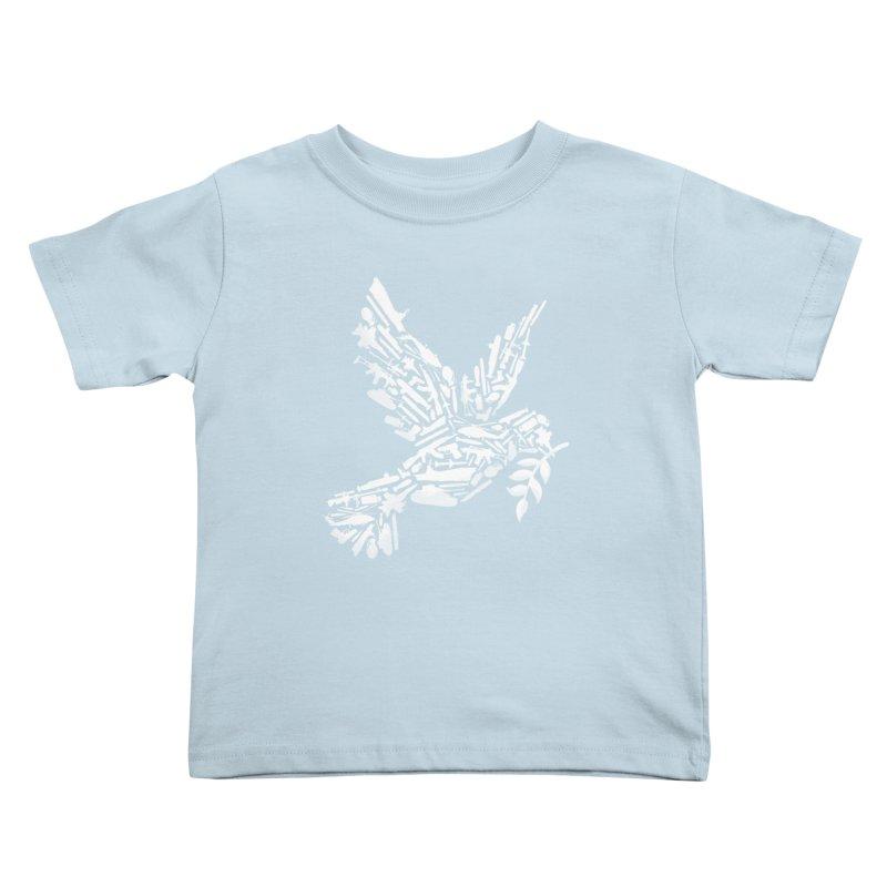 Peace? Kids Toddler T-Shirt by WanderingBert Shirts and stuff