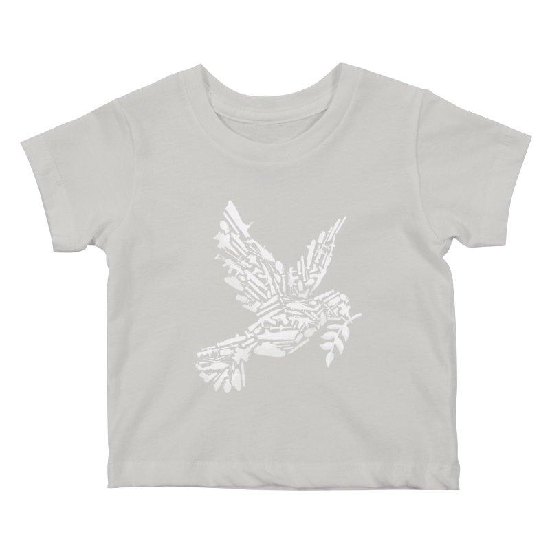Peace? Kids Baby T-Shirt by WanderingBert Shirts and stuff