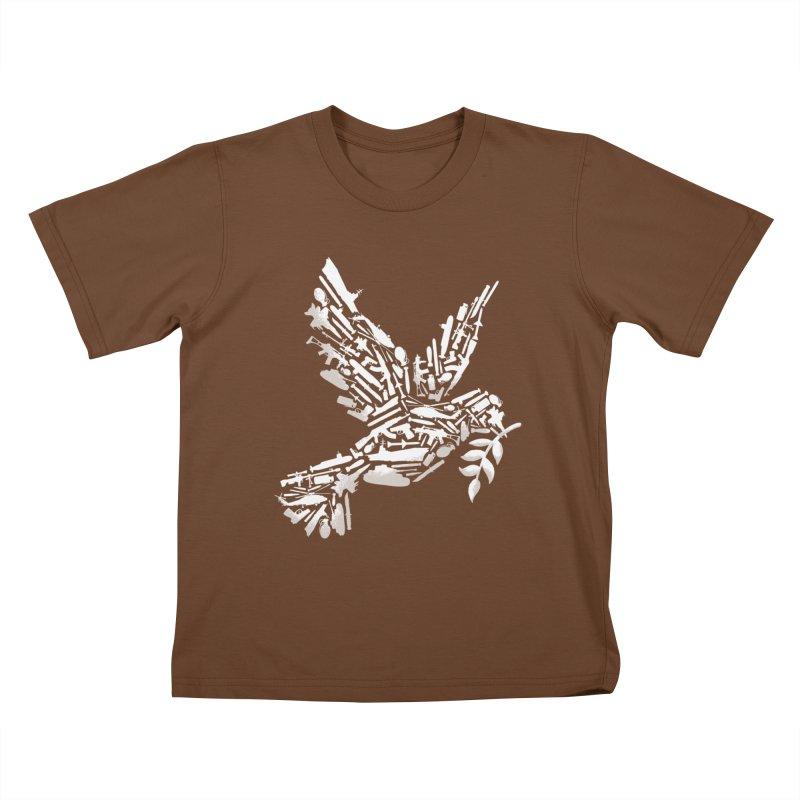 Peace? Kids T-Shirt by WanderingBert Shirts and stuff