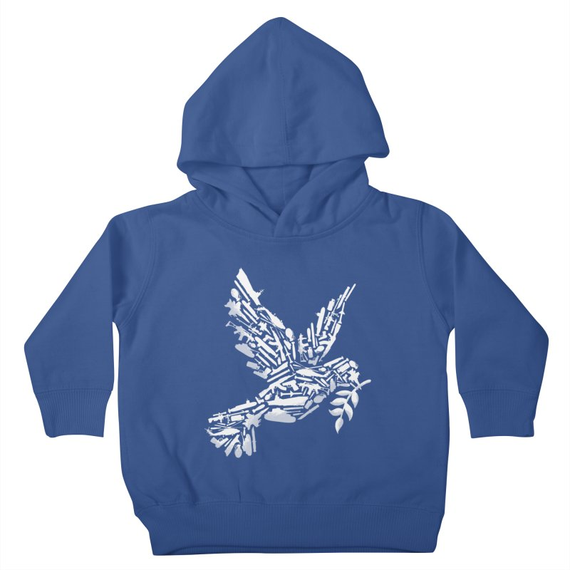 Peace? Kids Toddler Pullover Hoody by WanderingBert Shirts and stuff