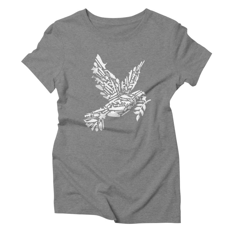 Peace? Women's Triblend T-Shirt by WanderingBert Shirts and stuff