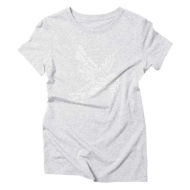 Peace? Women's Triblend T-Shirt by WanderingBert Shirts and stuff
