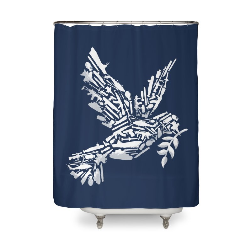 Peace? Home Shower Curtain by WanderingBert Shirts and stuff