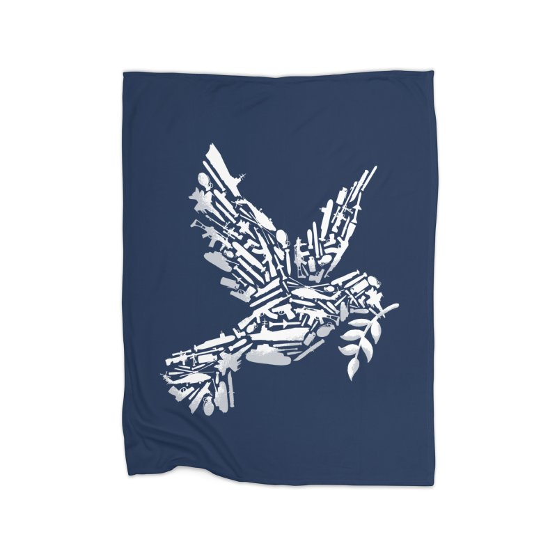 Peace? Home Blanket by WanderingBert Shirts and stuff
