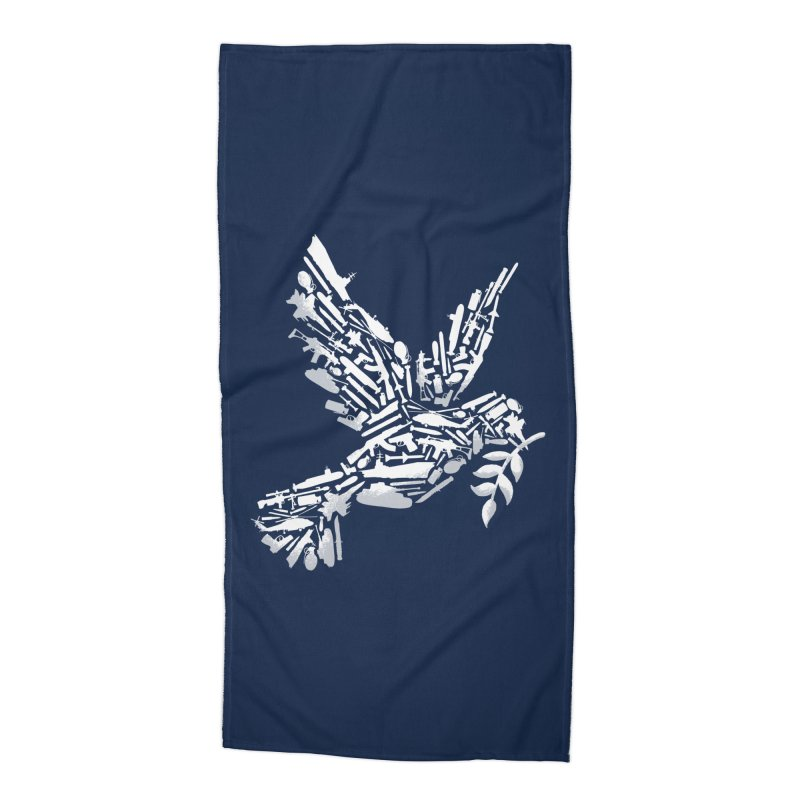 Peace? Accessories Beach Towel by WanderingBert Shirts and stuff