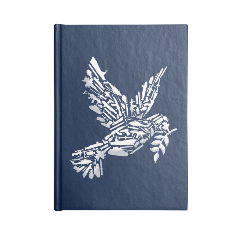 Peace? Accessories Notebook by WanderingBert Shirts and stuff
