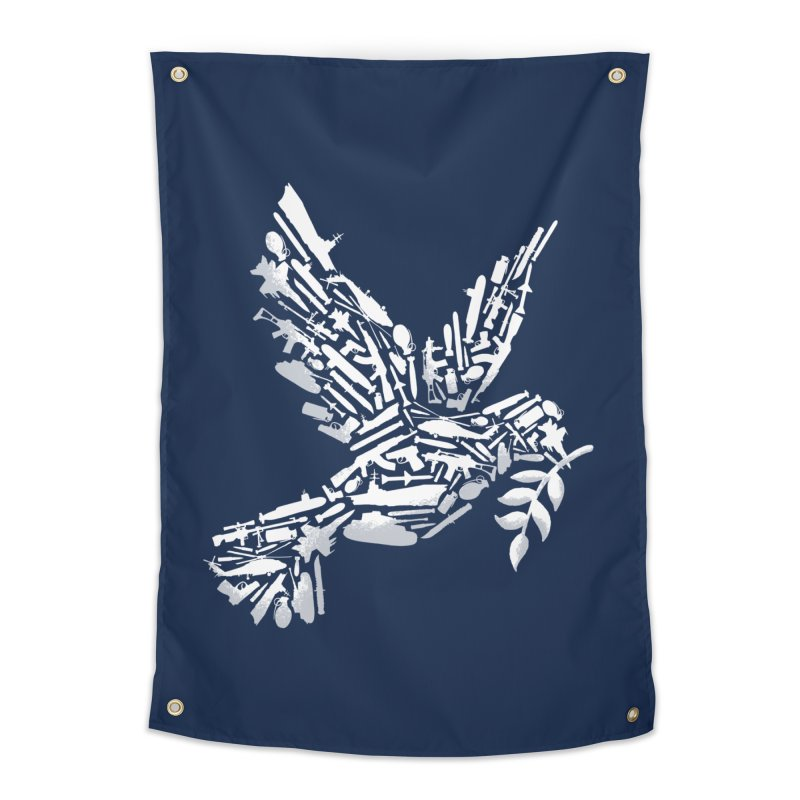 Peace? Home Tapestry by WanderingBert Shirts and stuff