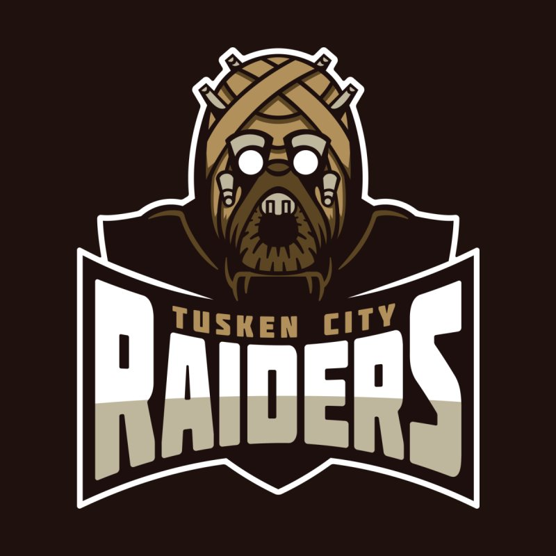 Tusken City Raiders Kids T-Shirt by WanderingBert Shirts and stuff