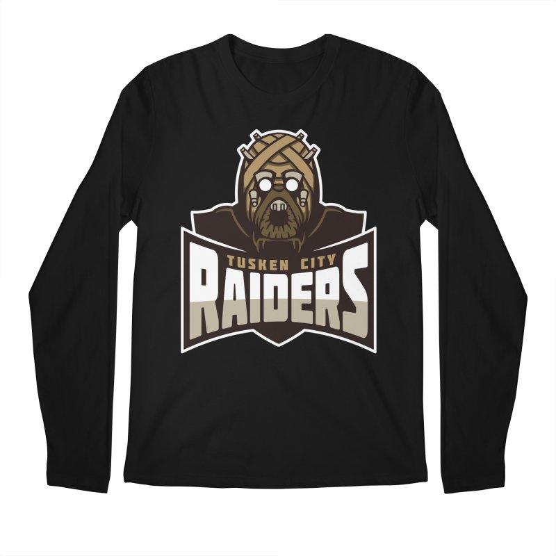 Tusken City Raiders Men's Longsleeve T-Shirt by WanderingBert Shirts and stuff
