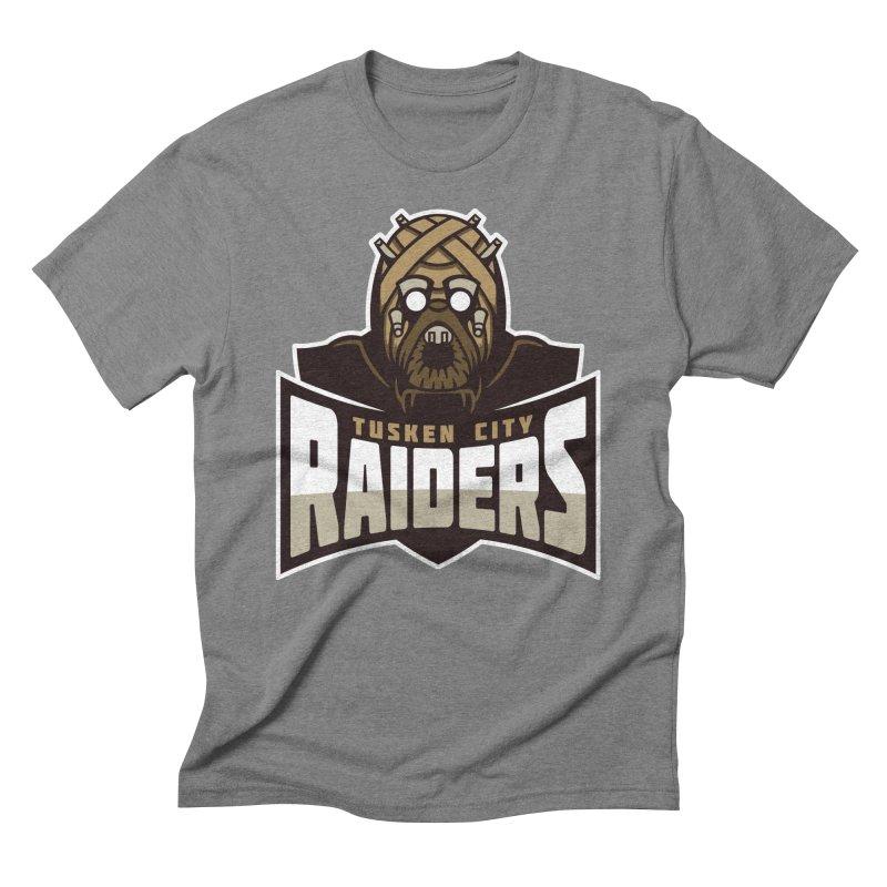 Tusken City Raiders Men's Triblend T-Shirt by WanderingBert Shirts and stuff